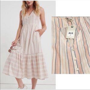 NWT lucky brand Luna cotton sun dress